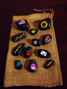 Wild Imagination Story Stones by starrygirlb on Etsy
