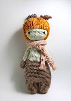 PATTERN PUMPY the pumpkin /crochet /amigurumi pattern