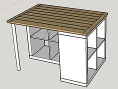 Plans Maison En Photos 2018 Image Description Plan de travail pour ilot central