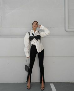 Mode Outfits, Chic Outfits, Trendy Outfits, Fashion Outfits, Fashion Pants, Dress Fashion, Dress Outfits, Foto Fashion, 80s Fashion