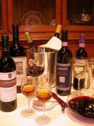 The Pleasure of Umbrian and Tuscan Wine
