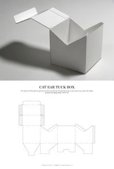 Cat Ear Tuck Box – s