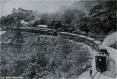 "Ferrocarriles en Venezuela. Tramo Caracas- La Guaira: Hemeroteca ""Ferrocarril en Venezuela Tramo Caracas - La Guaira"" 1883."