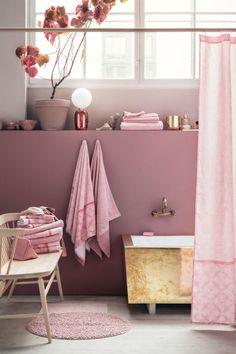 2 гостевых полотенца - Светло-розовый - HOME | H&M RU 1