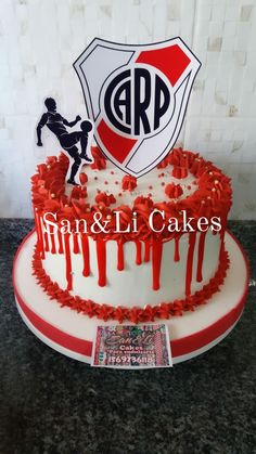 Birthday Cake, Grey, Desserts, Amor, Frases, Candy Stations, Amazing Cakes, Cream Cheeses, Recipes