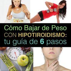 consejos de dieta y pérdida de peso para pacientes con tiroides