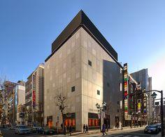 LOUIS VUITTON Ginza Namiki St. Boutique (ルイ・ヴィトン銀座並木通り店) / Architect by Jun Aoki (青木淳)