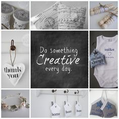 Do something Creative every day.