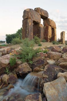 """The Rock Garden, a natural stone showcase garden in Fort Collins, Colorado, is known as """"Colorado's Stonehenge."""" 1 hr, 17 min from denver Living In Colorado, State Of Colorado, Colorado House, Places To Travel, Places To See, Fort Collins Colorado, Stonehenge, Travel Usa, Travel Tips"""