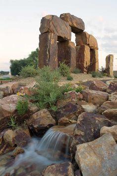 "The Rock Garden, a natural stone showcase garden in Fort Collins, Colorado, is  known as ""Colorado's Stonehenge."""