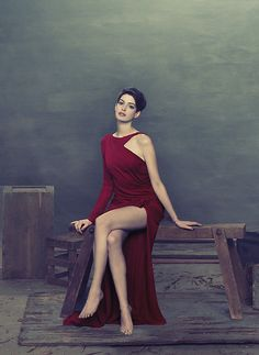 Anne Hathaway by Ruven Afanador