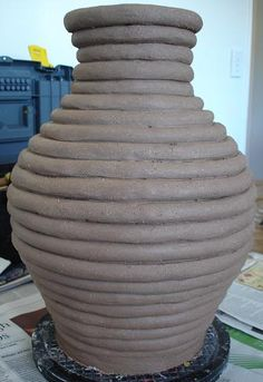 Another coil pot | Row's Pottery Shed