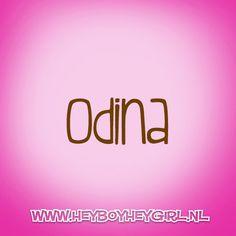 Odina  (Voor meer inspiratie, en unieke geboortekaartjes kijk op www.heyboyheygirl.nl)