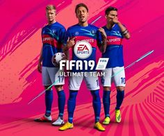 FIFA 19 has gone big on Neymar this year, and he leads the charge for Ultimate Team as well Football Jerseys, Football Posters, Retro Football, Football Art, College Football, European Soccer, Fc Chelsea, Ea Sports, Sports Logo