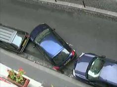 Como uma Mulher Francesa estaciona o Carro | Tretando Videos