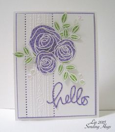 calliope flourish   LOLS used Little Monsters Stamp and Die Set , Soaring For You Stamp ...