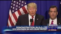 Pete Hegseth Provides Inside Look at Anti-Trump DC Protests