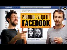 Pourquoi j'ai quitté Facebook (Adrien Ménielle) - YouTube