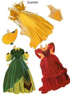 Gone with the wind 3* The International Paper Doll Society by Arielle Gabriel for all paper doll and paper toy lovers. Mattel, DIsney, Betsy McCall, etc. Join me at #ArtrA, #QuanYin5 Linked In QuanYin5 YouTube QuanYin5!
