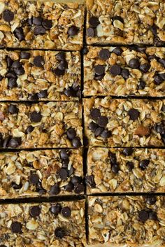 No Bake Almond Joy Granola Bars - ohsheglows.com