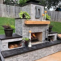 Stylish 48 Best Outdoor Fireplace Ideas For Your Family. - Stylish 48 Best Outdoor Fireplace Ideas For Your Family. Stylish 48 Best Outdoor Fireplace Ideas For Your Family. Outdoor Fireplace Plans, Outside Fireplace, Outdoor Fireplace Designs, Backyard Fireplace, Fireplace Ideas, Rustic Outdoor Fireplaces, Build A Fireplace, Backyard Patio Designs, Backyard Landscaping