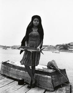 "FBRAVO, MANUEL ALVAREZ (1902-2002) ""Un Pez que Llaman Sierra [A Fish Called Sword]."" Silver print, 9 3/8x7 3/8 inches (23.8x18.7 cm.), with Bravo's signature and México, in pencil, on verso. 1944; printed 1980s"
