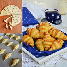 Gabriella kalandjai a konyhában :): Burgonyás kifli Savoury Baking, Bread Baking, Croissant Bread, Bread Dough Recipe, Hungarian Recipes, Winter Food, Healthy Cooking, Bread Recipes, Baked Goods