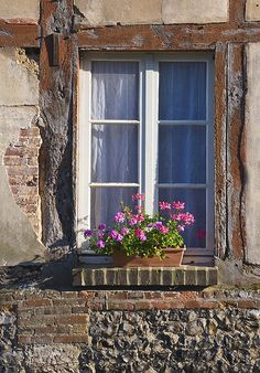 Window Box in Bezancourt, France