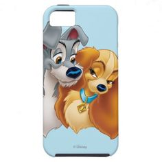 Classic Lady and the Tramp Snuggling iPhone 5 Cover $47.95