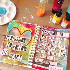 Permission slips have been written and my heart is full and my spirit is soaring. #OLCBreneCourse #Padgram