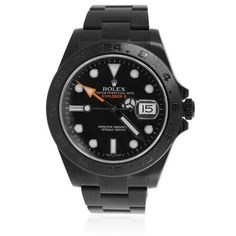 Rolex Explorer II Black Stainless Steel Automatic Men's Watch