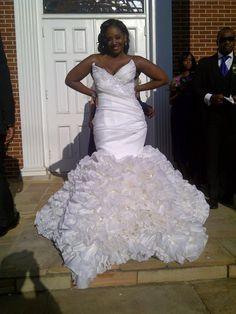 Wedding Dress designed by Reco Chapple  houseofchapple.com/ MY DREAM DRESS :)!!
