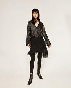 Image 1 of LEGGINGS WITH TULLE SKIRT from Zara