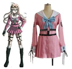 Danganronpa V3 Cosplay Costume Sailor Uniform Suit Outfit Clothes Anime Outfits, Fashion Outfits, Designer Tracksuits, Cosplay Style, Danganronpa V3, Cosplay Costumes, Wedding Events, Sailor, Latest Trends
