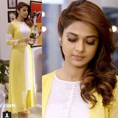 indian designer wear Buy Online Jennifer Winget Yellow Color Stylish Indowestern Suit From Dress Indian Style, Indian Dresses, Yellow Kurti, Indian Designer Suits, Indian Designers, Kurta Designs Women, Kurti Designs Party Wear, Designs For Dresses, Pakistani Dress Design
