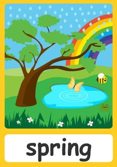 Learning English For Kids, English Lessons For Kids, Kids English, Weather Activities Preschool, Montessori Activities, Teaching Kids, Kids Learning, Seasons Chart, Weather For Kids
