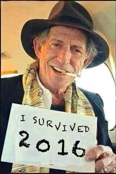 Keith Richards will outlive us all...