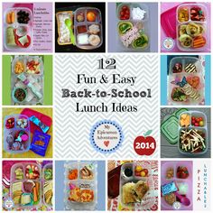 My Epicurean Adventures: 12 Fun and Easy Back-To-School Lunch Ideas 2014 in @easylunchboxes