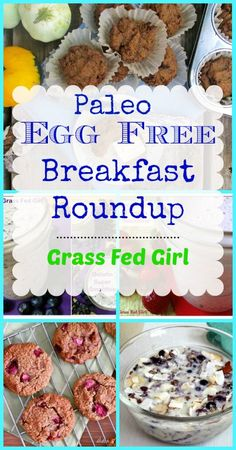Top 20 Egg-Free Paleo Breakfast Ideas (gluten free, dairy free, grain free)