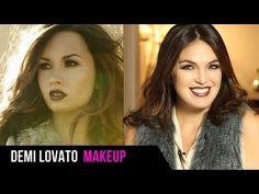 Demi Lovato Makeup Tutorial: Get Her Album Cover Look! (+playlist)