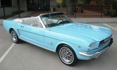 Currently obsessing: 1965 Convertible Mustang