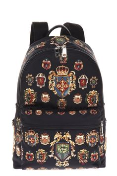DOLCE & GABBANA . #dolcegabbana #bags #lining #nylon #backpacks #cotton #