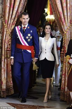Felipe VI and Queen Letizia of Spain's Royal Family