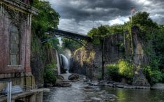 Paterson Great Falls National Park is a Nature Reserve in Paterson. Plan your road trip to Paterson Great Falls National Park in NJ with Roadtrippers. New Jersey, Jersey Girl, Paterson Falls, The Places Youll Go, Places To See, Chutes Victoria, Chute Montmorency, Largest Waterfall, Argentine