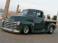 1951 Green Custom Chevy