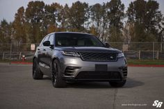 Serial Killer: Black Range Rover Velar with Customized Face