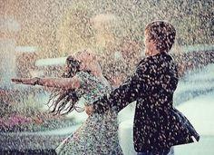Tomar um banho de chuva... um banho de chuva .... ai ai ai ai ai....