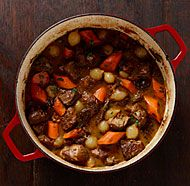 Lamb and Prune Stew - Lamb, Onion, Celery, Carrot, Hard Cider, Ginger ...