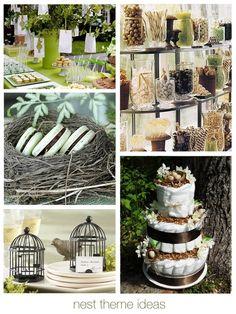"""Nest Theme"" #wedding #bridalshower favor ideas:  Favor Couture"