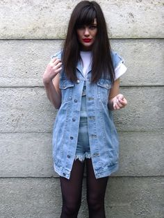 Struttlamode rocking our #90s inspired #denim #dungarees #denimdaze